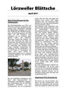 thumbnail of Lörzweiler Blättsche April 2017