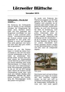 thumbnail of Lörzweiler Blättsche November 2018