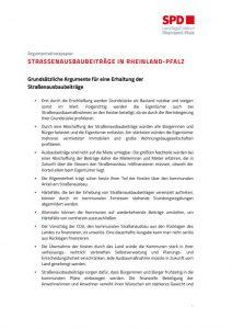 thumbnail of Informationspapier Straßenausbaubeiträge